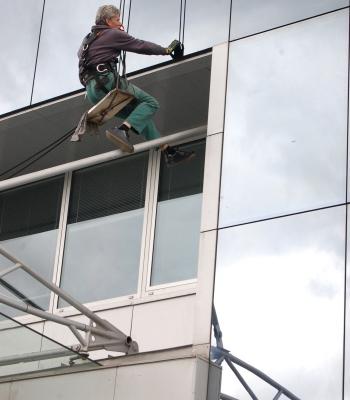 mytí oken - ukázka realizace
